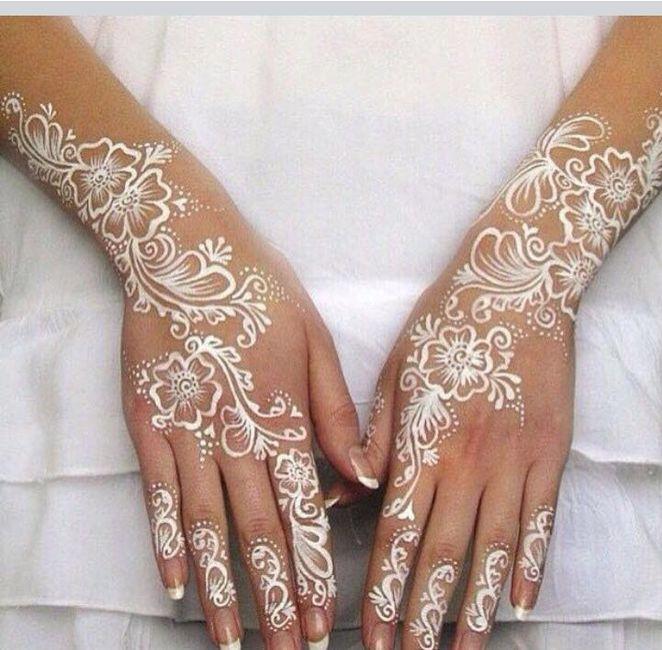 Henné Blanc henné blanc - beauté - forum mariages