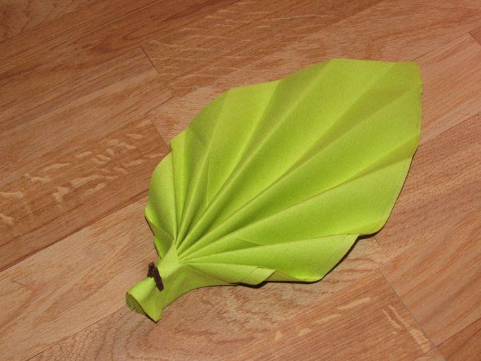Pliage serviette d coration forum - Pliage de serviette en papier feuille ...