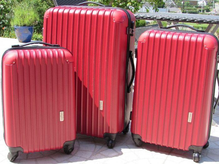 Nos valises pour partir ...