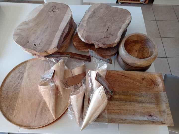 Brunch : plateaux en bois - 1