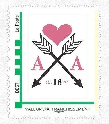ide timbre 2 - Timbres Personnaliss Mariage