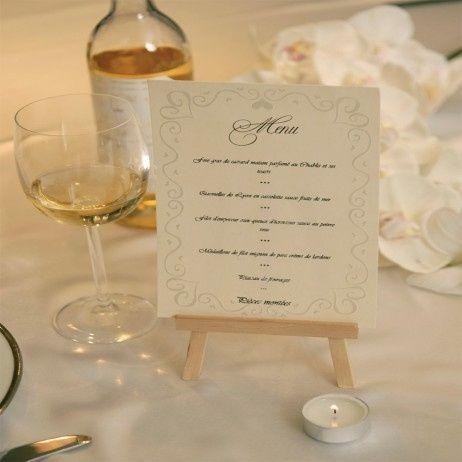 menu table