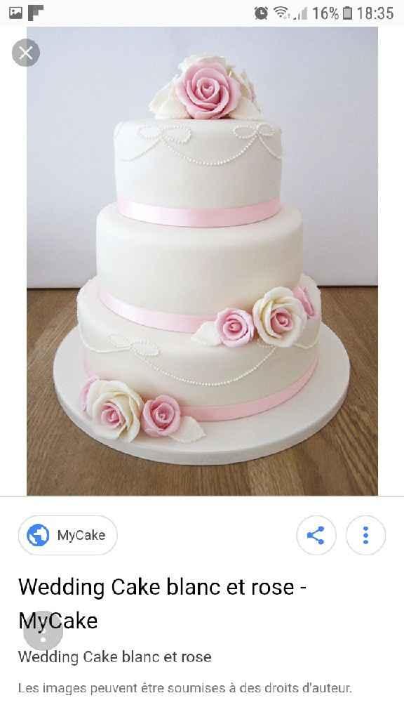 Moderne ou traditionnelle : le wedding cake - 1