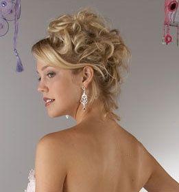 Coiffure mariage cheveux mi long 2011
