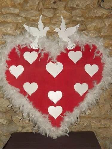 Plan de table d coration forum - Plan de table coeur mariage ...