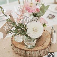 Bouquet centre de table champêtre - 1