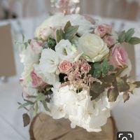 Bouquet centre de table champêtre - 2
