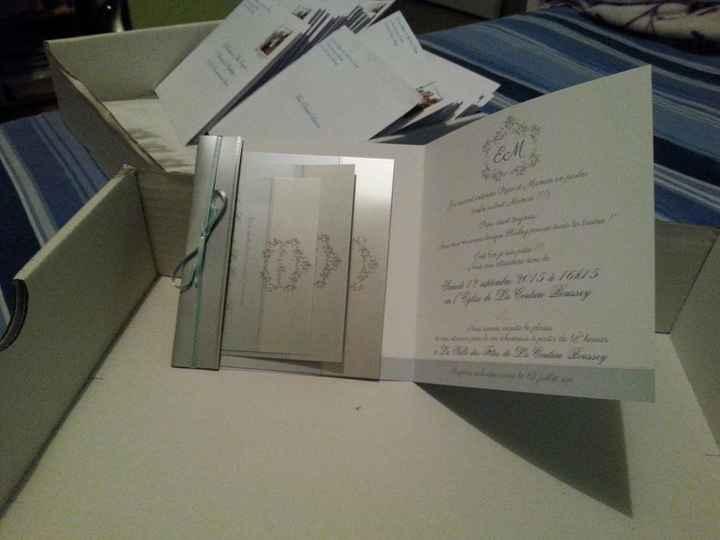 Mes faites part ,enveloppes et timbres personnalisés !!! - 2