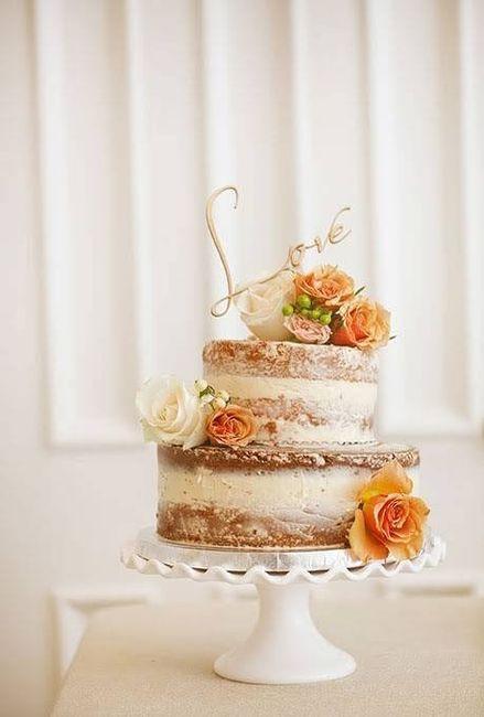 Gâteau de mariage - Photo