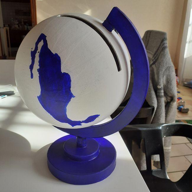 Urne globe en cours 1
