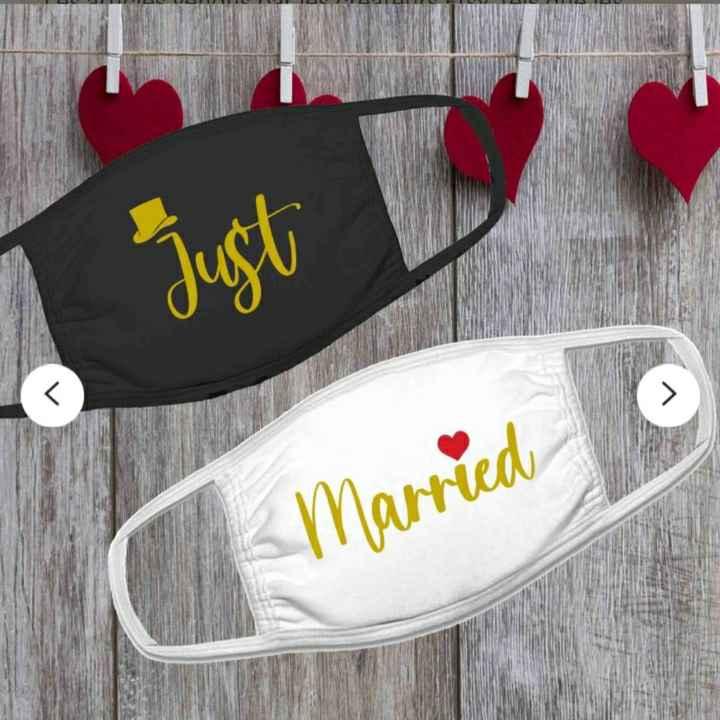 Masque mariés - 1