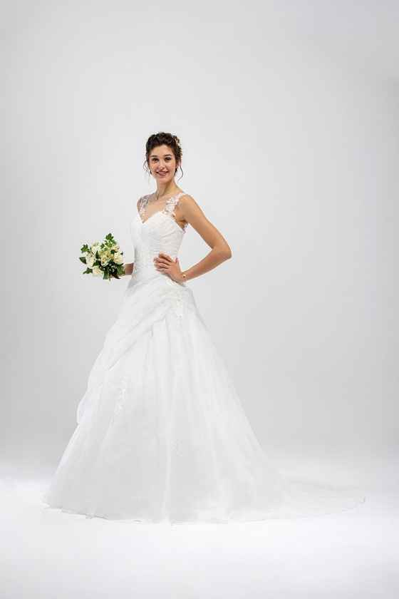 Robe de mariée grande taille - 1