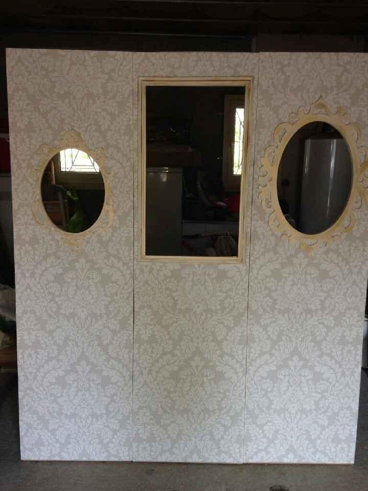 Urne et photobooth presque finis! - 2