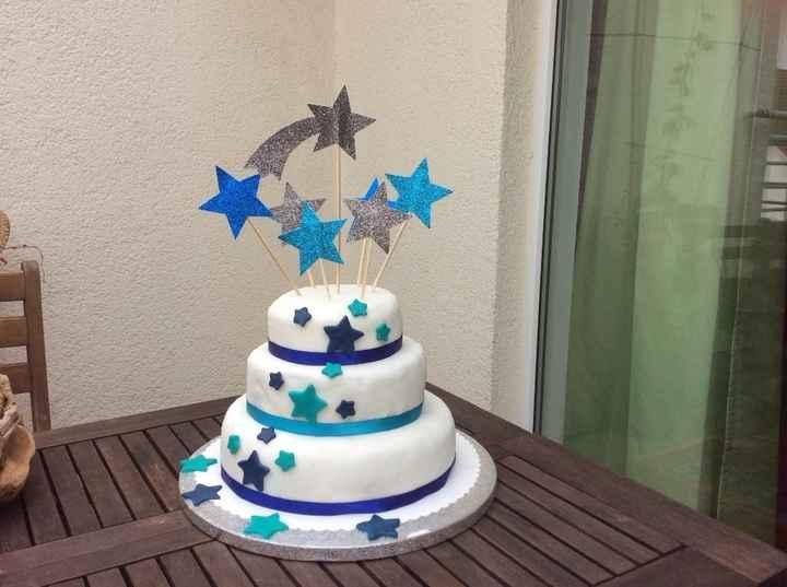 Notre wedding cake maison