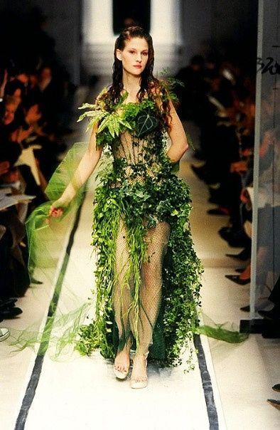 robe végétale