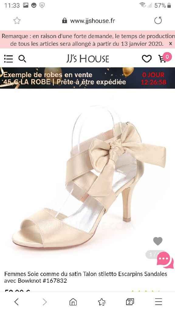 Chaussures trouver - 1