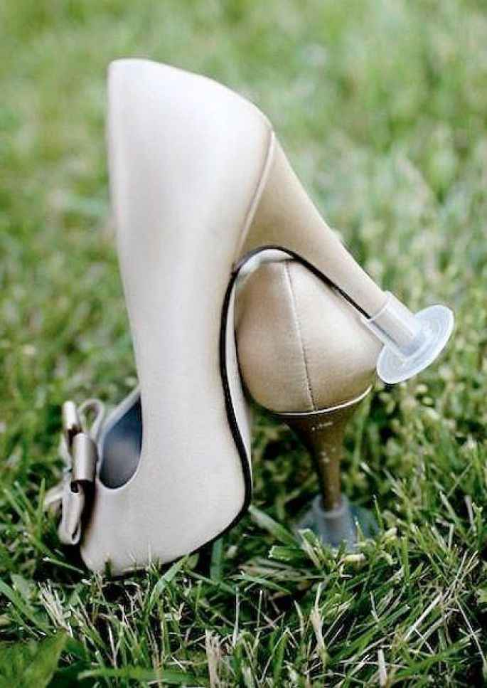 Protège talons chaussures