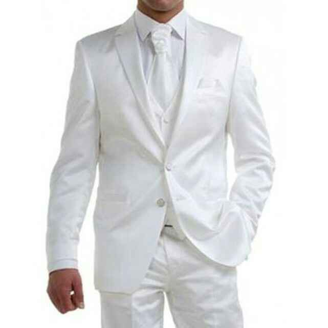 Recherche costume pour le marié blanc - 1