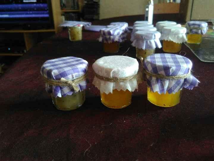 Mini bocaux miel et confiture - 1