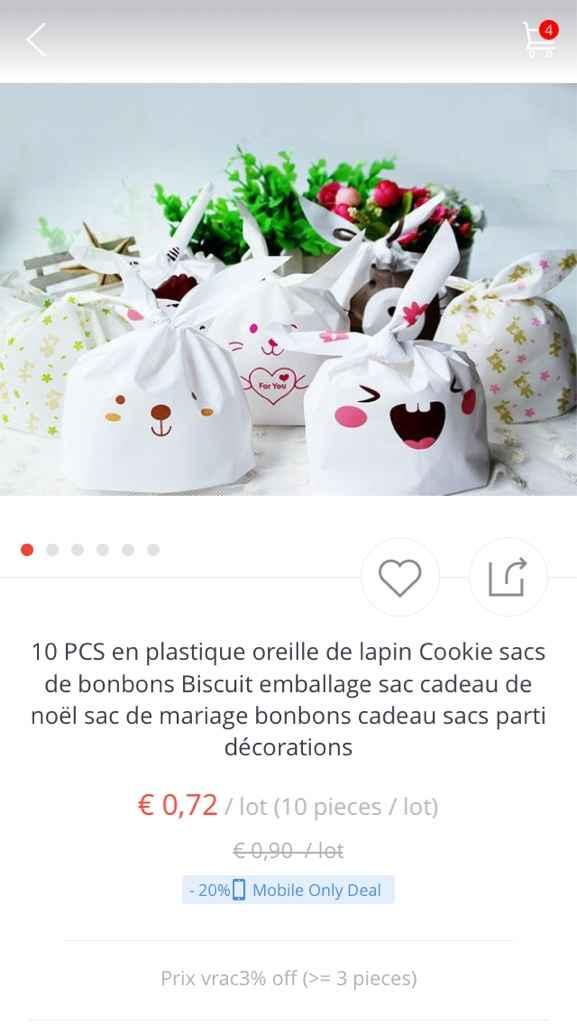 Les contenants bonbons pour enfants - 1
