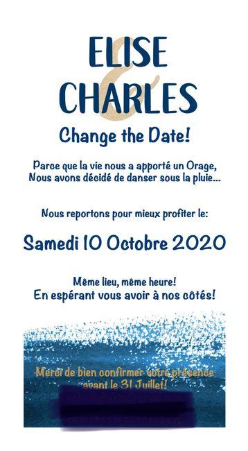 """Idées texte pour un """"change the Date"""" 1"""