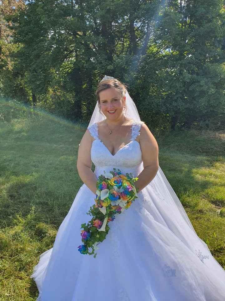 Mariage 18 septembre thème arc en ciel - 1