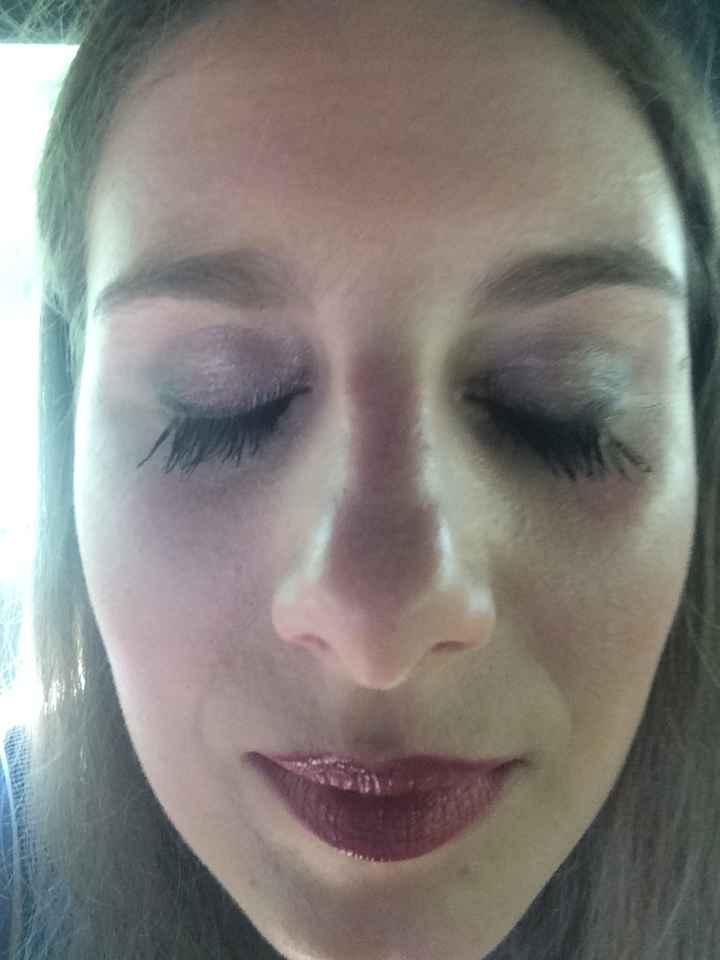 Photos de nos essais maquillage - 2