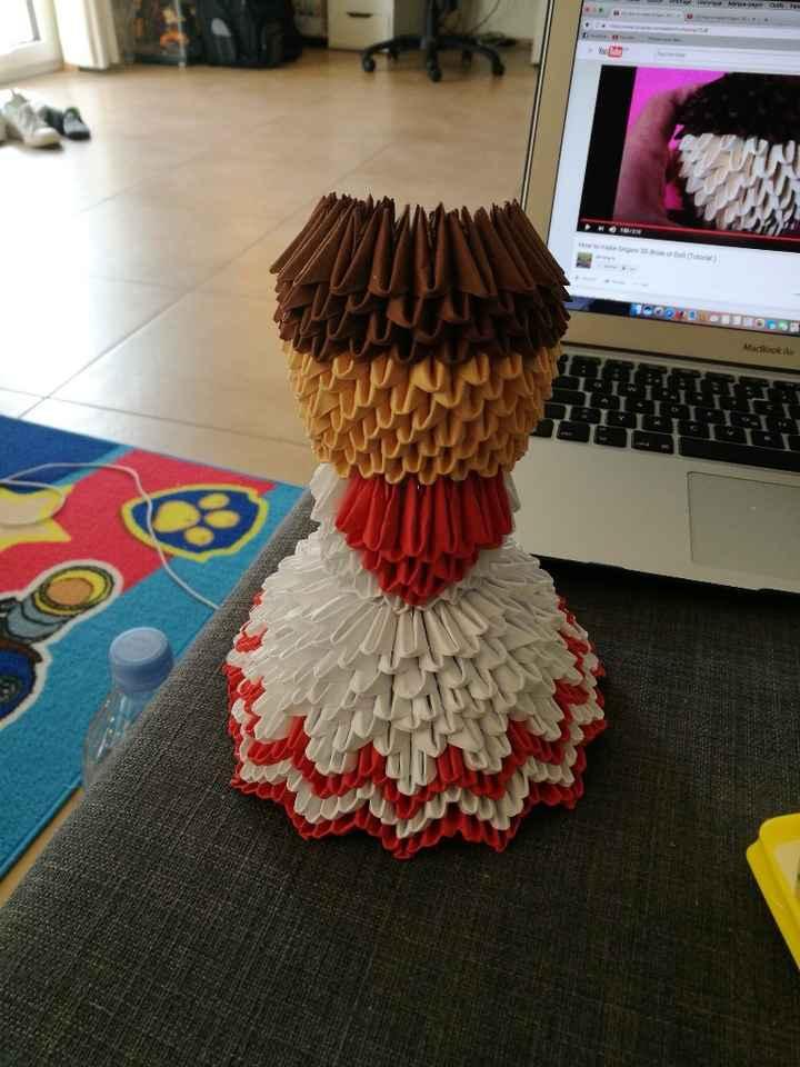 Avis mariee origami pas encore fini - 1