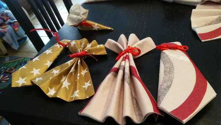 Mes pliages de serviette - 2