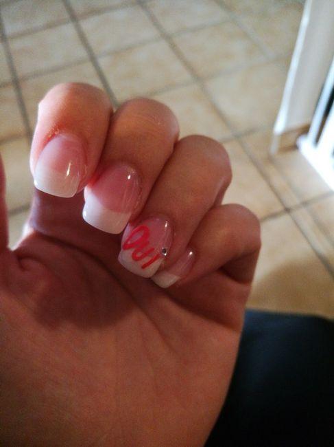 Ma manicure fait pour vendredi - 1
