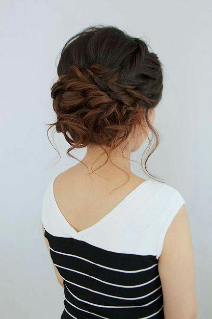 Ombre hair , 1