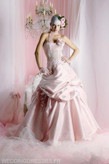 robe de mari e vieux rose photo. Black Bedroom Furniture Sets. Home Design Ideas