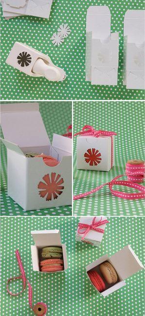 tuto boite cadeau pour macarons d coration forum. Black Bedroom Furniture Sets. Home Design Ideas