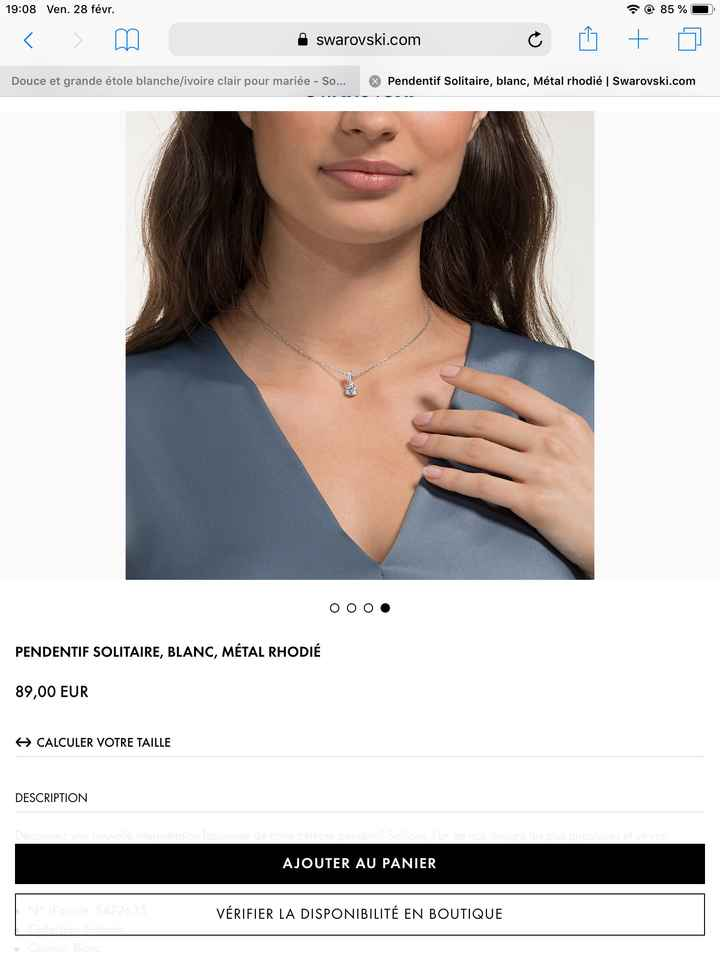 Choix collier de dos - 2