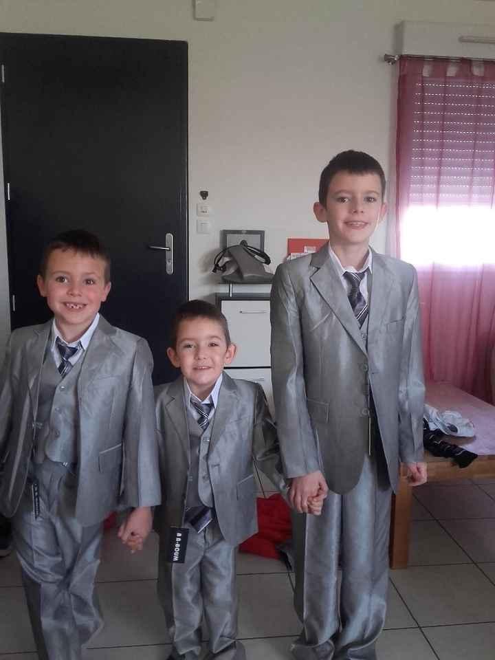 costume de mes enfants