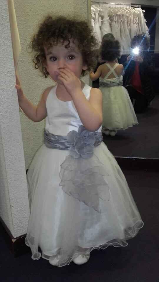 robe de ma petite nièce