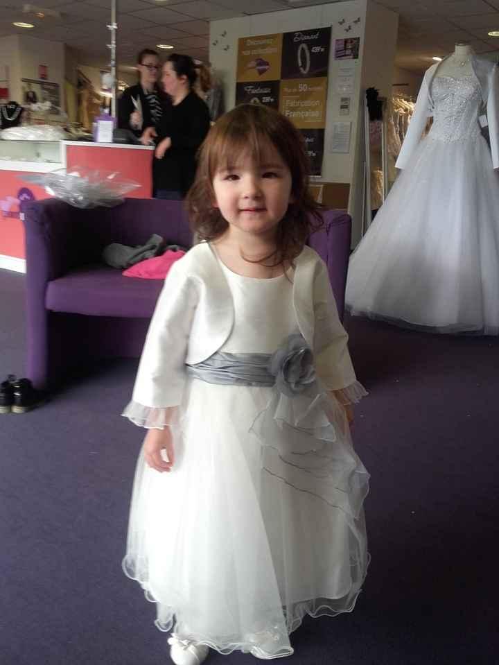 robe de ma petite mièce