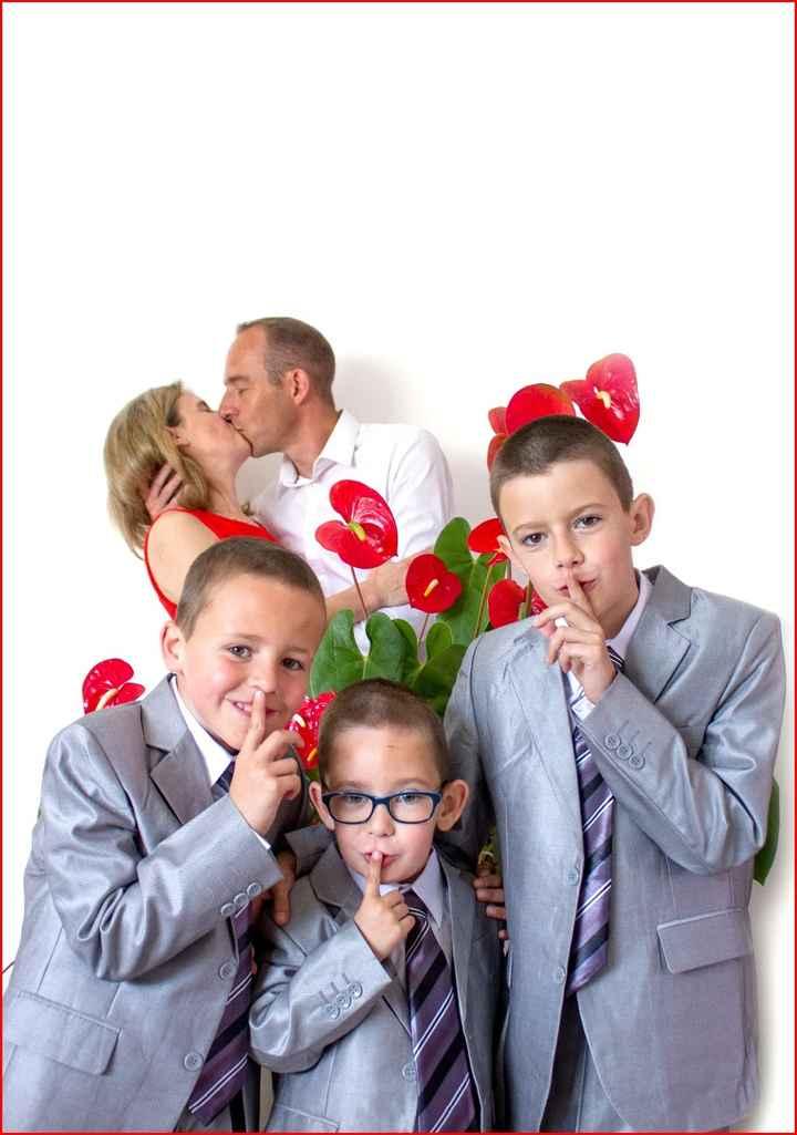 Mes 3 garçon et nous