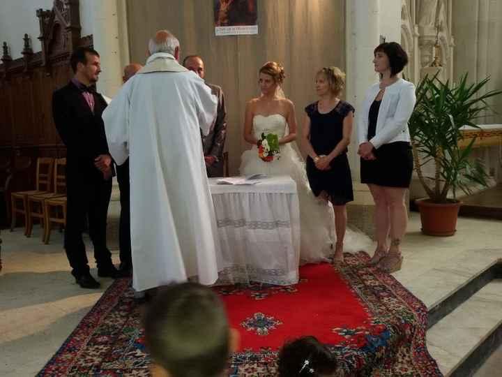 la cérémonie religieuse