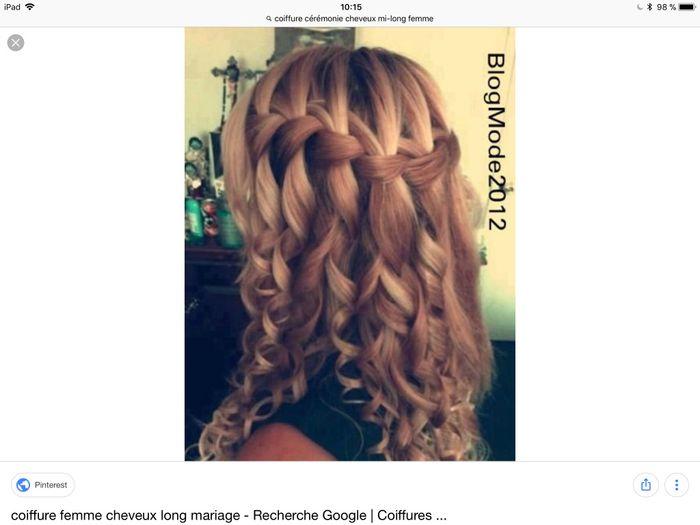 Coiffures cheveux lâchés 2
