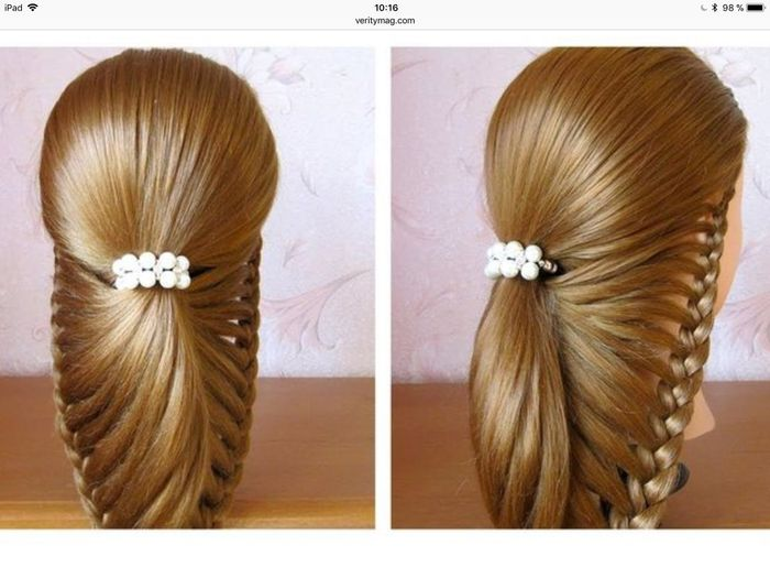 Coiffures cheveux lâchés 3
