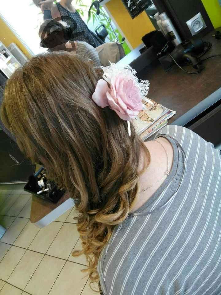 Deuxième essai coiffure : je crois que c'est le bon ! - 1