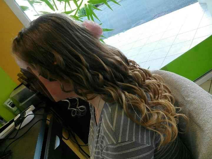 Deuxième essai coiffure : je crois que c'est le bon ! - 3