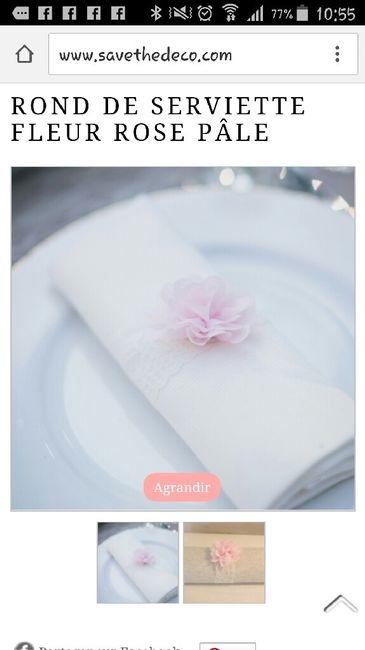 Recherche idee rond de serviettes - 1