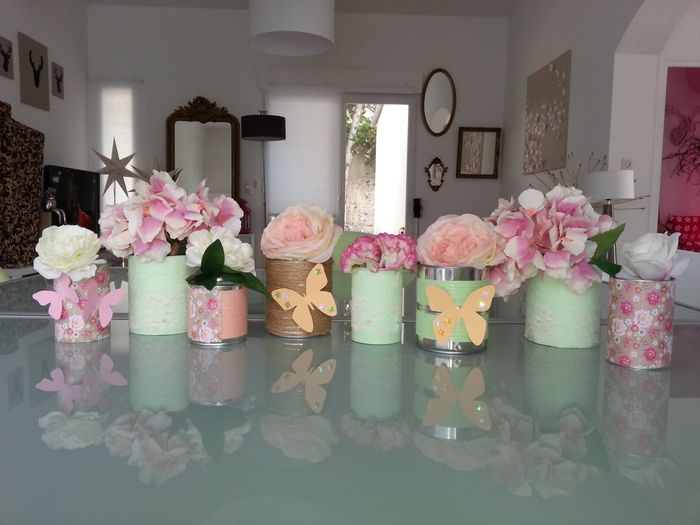 Pots De Fleur Boites De Conserve Fait Maison Decoration Forum