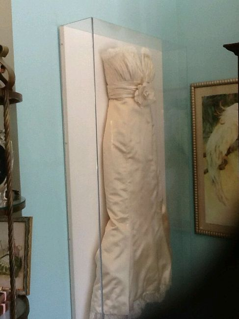 wedding dress shadow box cadre robe de mari 233 e page 2 apr 232 s le mariage forum 9253