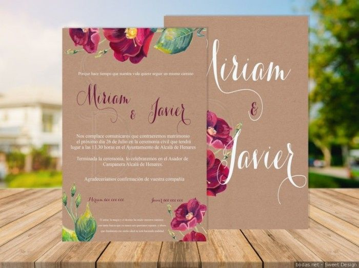 Ton mariage avec classe... Les invitations 💌 2