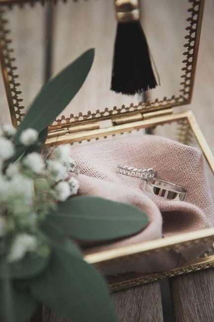 Ton mariage avec classe... Le porte alliance 💍 3