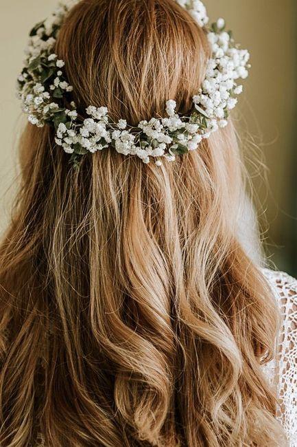 Le look de mes rêves # Une couronne fleurie 🌸 1