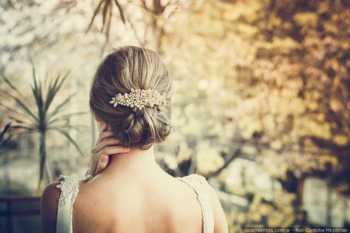 2 styles - 1 mariée : La coiffure 1